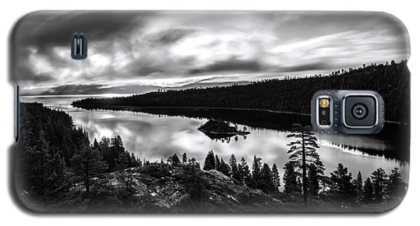 Emerald Bay Black And White Galaxy S5 Case