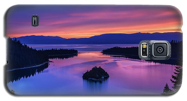 Emerald Bay Clouds At Sunrise Galaxy S5 Case