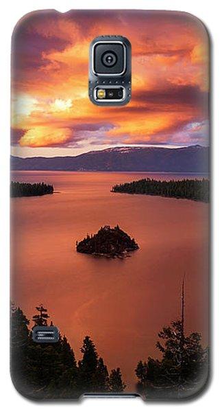 Emerald Bay Fire Galaxy S5 Case