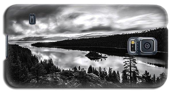 Emerald Bay Rays Black And White By Brad Scott Galaxy S5 Case