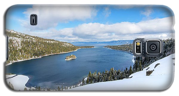 Galaxy S5 Case featuring the photograph Emerald Bay Slopes by Brad Scott