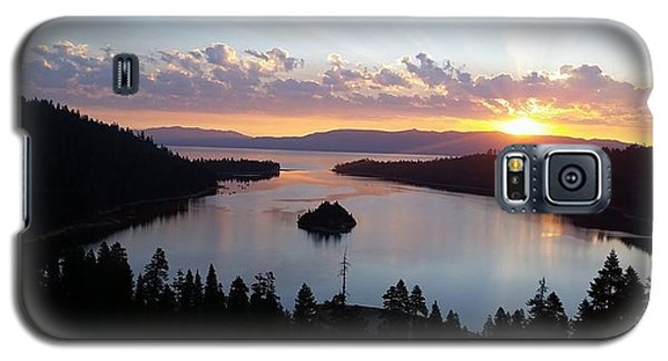 Emerald Bay Sunrise Galaxy S5 Case