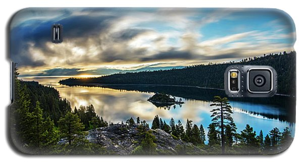 Galaxy S5 Case featuring the photograph Emerald Bay Sunrise Lake Tahoe by Brad Scott