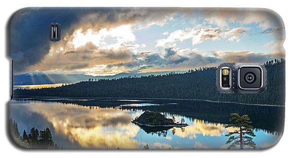 Emerald Bay Sunrise Rays Galaxy S5 Case