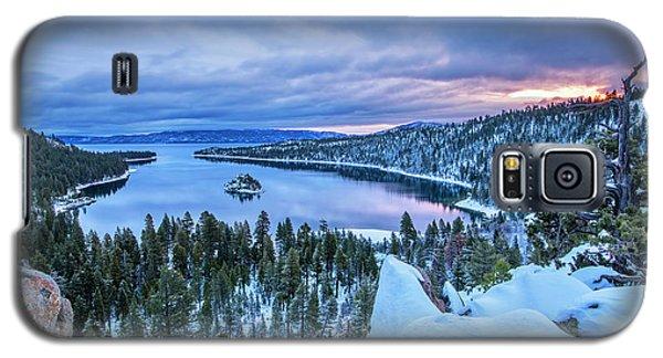 Emerald Bay Winter Sunrise Galaxy S5 Case