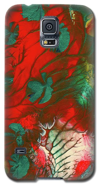 Emerald Butterfly Island Galaxy S5 Case