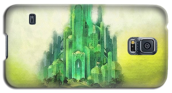 Wizard Galaxy S5 Case - Emerald City by Mo T