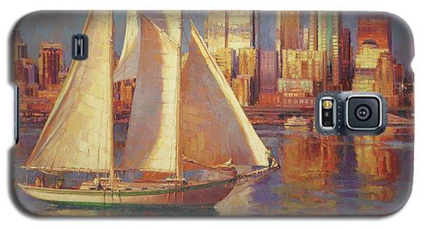 Seattle Galaxy S5 Case - Elliot Bay by Steve Henderson