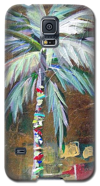 Emerald Fire Palm  Galaxy S5 Case