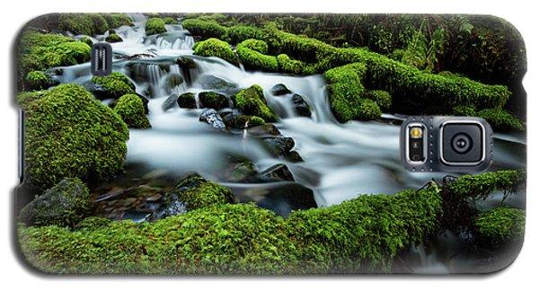 Emerald Flow Galaxy S5 Case