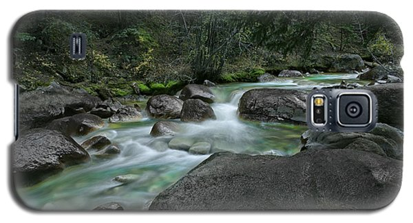 Galaxy S5 Case featuring the photograph Emerald Forest by Tim Reaves