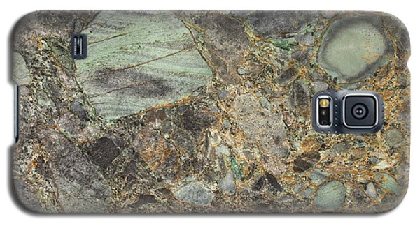 Emerald Green Granite Galaxy S5 Case by Anthony Totah
