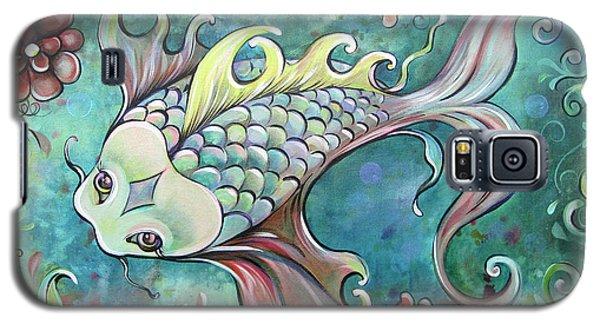 Emerald Koi Galaxy S5 Case by Shadia Derbyshire