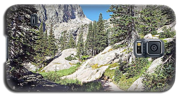 Emerald Lake Trail - Rocky Mountain National Park Galaxy S5 Case by Joseph Hendrix