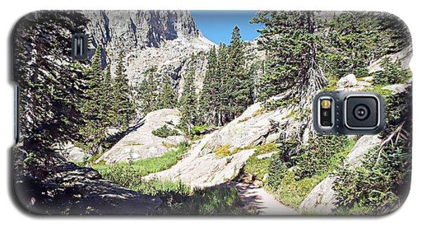 Emerald Lake Trail - Rocky Mountain National Park Galaxy S5 Case by Joseph Hendrix