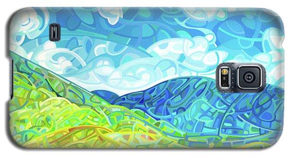 Emerald Moments Galaxy S5 Case by Mandy Budan