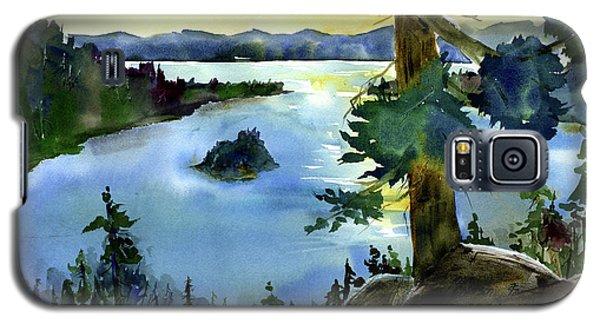 Emerald Morn, Lake Tahoe Galaxy S5 Case