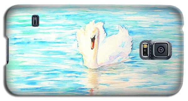 Emerald Swan Galaxy S5 Case