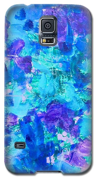 Galaxy S5 Case featuring the painting Emergence by Irene Hurdle