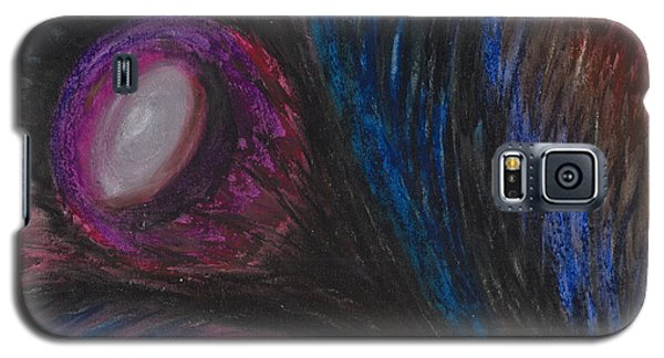 Galaxy S5 Case featuring the painting Emerging by Ania M Milo