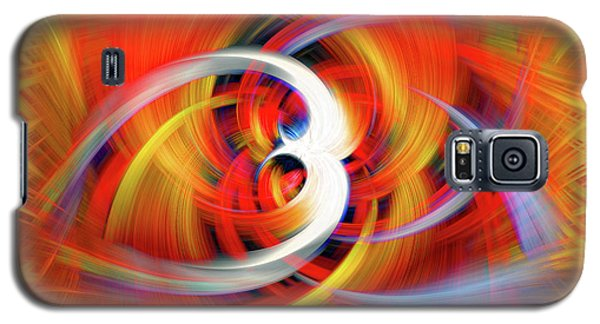 Emerging Light From A Colorful Vortex Galaxy S5 Case