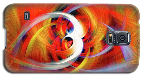 Emerging Light From A Colorful Vortex Galaxy S5 Case by Sue Melvin
