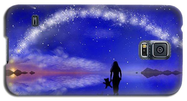Galaxy S5 Case featuring the digital art Emily's Journey Part 1 by Bernd Hau