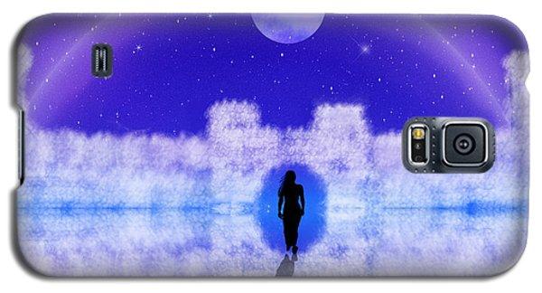 Galaxy S5 Case featuring the digital art Emily's Journey Part II by Bernd Hau