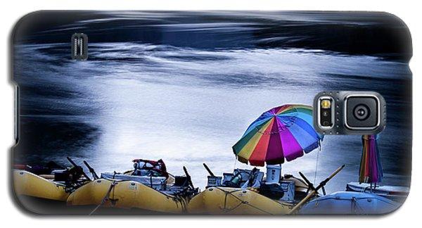 Galaxy S5 Case featuring the photograph Eminence Camp Umbrella  by Britt Runyon