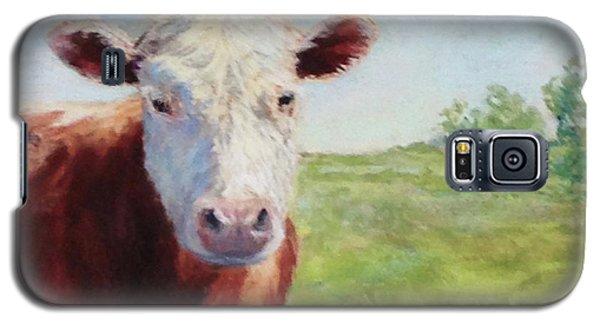 Galaxy S5 Case featuring the painting Emmett by Vikki Bouffard