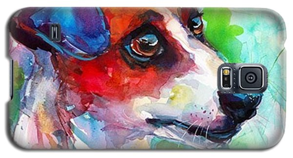 Galaxy S5 Case - Emotional Jack Russell Terrier by Svetlana Novikova