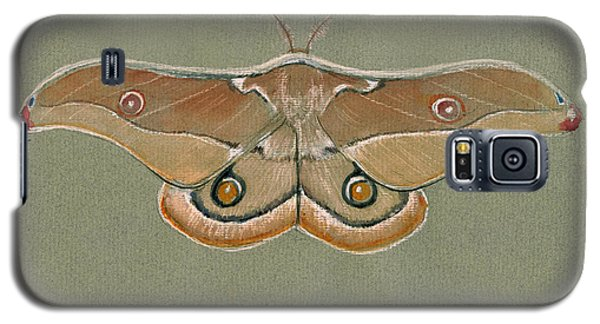 Hawk Galaxy S5 Case - Emperor Gum Moth by Juan Bosco