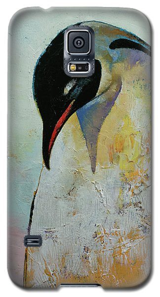 Emperor Penguin Galaxy S5 Case by Michael Creese