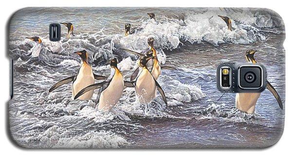 Emperor Penguins Galaxy S5 Case
