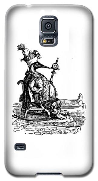 Empire Penguin Grandville Transparent Background Galaxy S5 Case