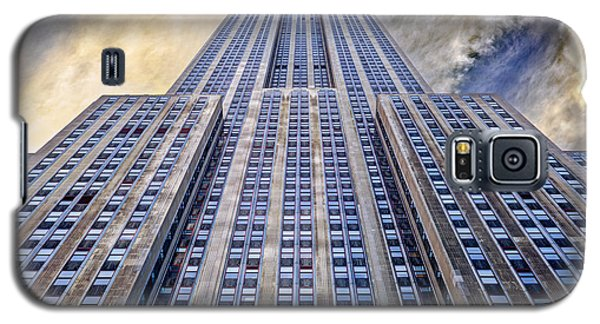 Empire State Building  Galaxy S5 Case by John Farnan