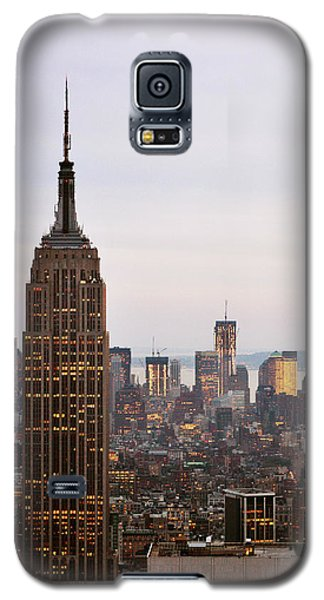 Galaxy S5 Case featuring the photograph Empire State Building No.2 by Zawhaus Photography