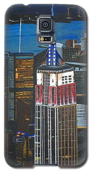 Empire State Galaxy S5 Case by Donna Blossom