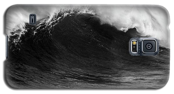 Galaxy S5 Case featuring the photograph Empty Jaws Black And White by Brad Scott