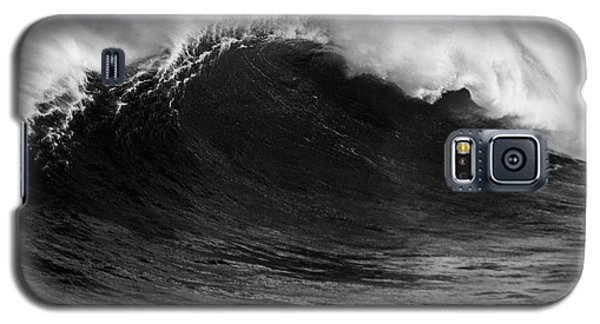 Empty Jaws Black And White Galaxy S5 Case