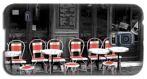 Empty Montmartre Cafe Fusion Galaxy S5 Case