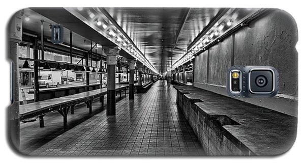 Empty Pike Place Market In Seattle Galaxy S5 Case