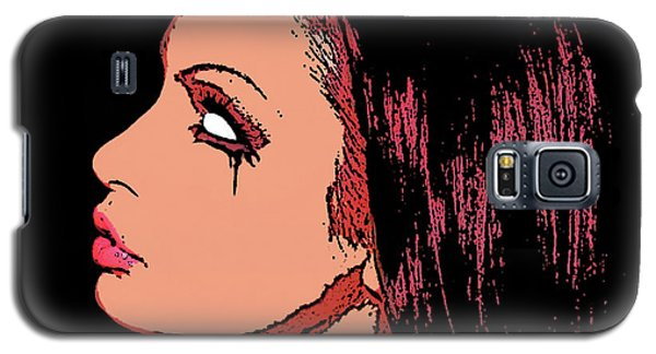 Galaxy S5 Case featuring the painting Empty by Tbone Oliver