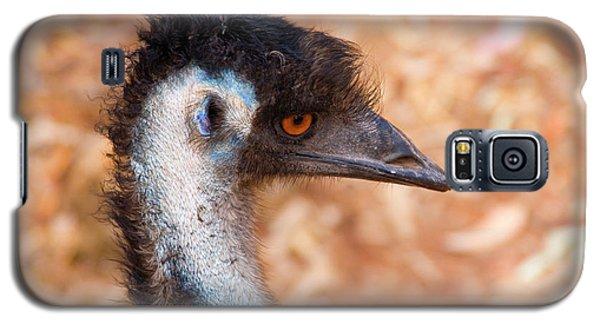 Emu Profile Galaxy S5 Case by Mike  Dawson