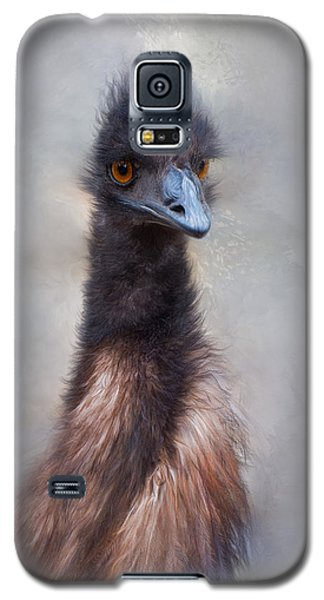 Galaxy S5 Case featuring the photograph Emu by Robin-Lee Vieira