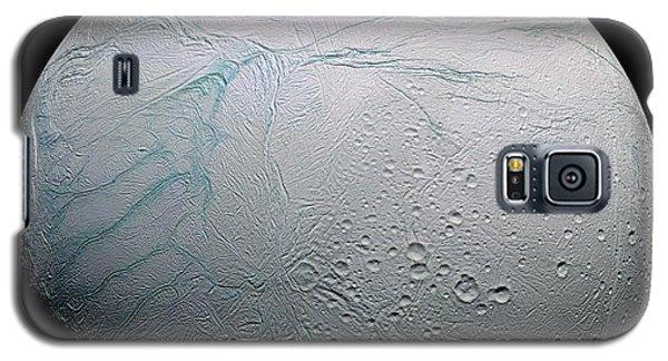 Galaxy S5 Case featuring the photograph Enceladus Hd by Adam Romanowicz