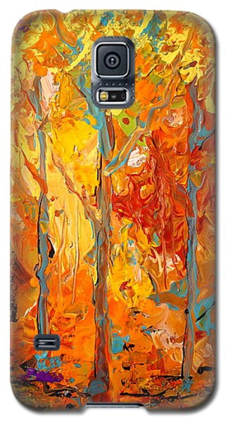Enchanted Galaxy S5 Case by Alan Lakin