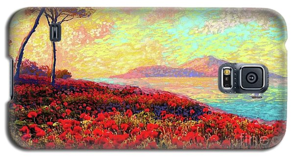 Impressionism Galaxy S5 Case - Enchanted By Poppies by Jane Small