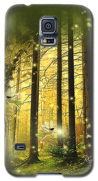 Galaxy S5 Case featuring the digital art Enchanted Forest - Fantasy Art By Giada Rossi by Giada Rossi