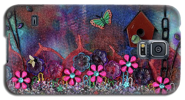 Enchanted Patchwork Galaxy S5 Case by Donna Blackhall